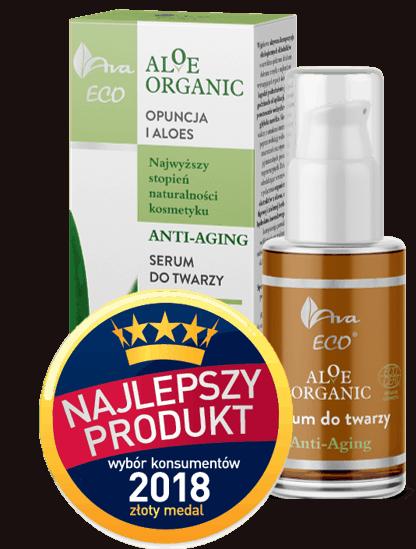 Aloe organic serum +NPWK 2018