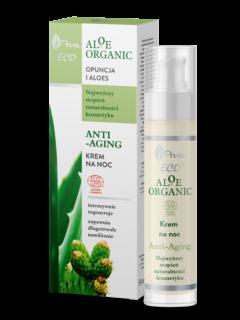 ALOE ORGANIC Anti-aging night cream