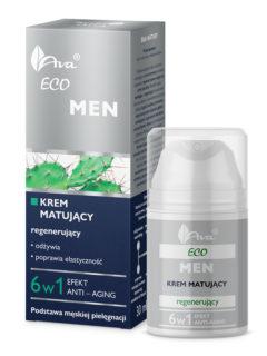 ECO MEN Krem matujący – regenerujący 6 w 1