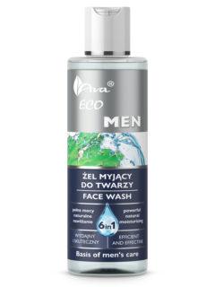 ECO MEN Żel myjący do twarzy 6 w 1