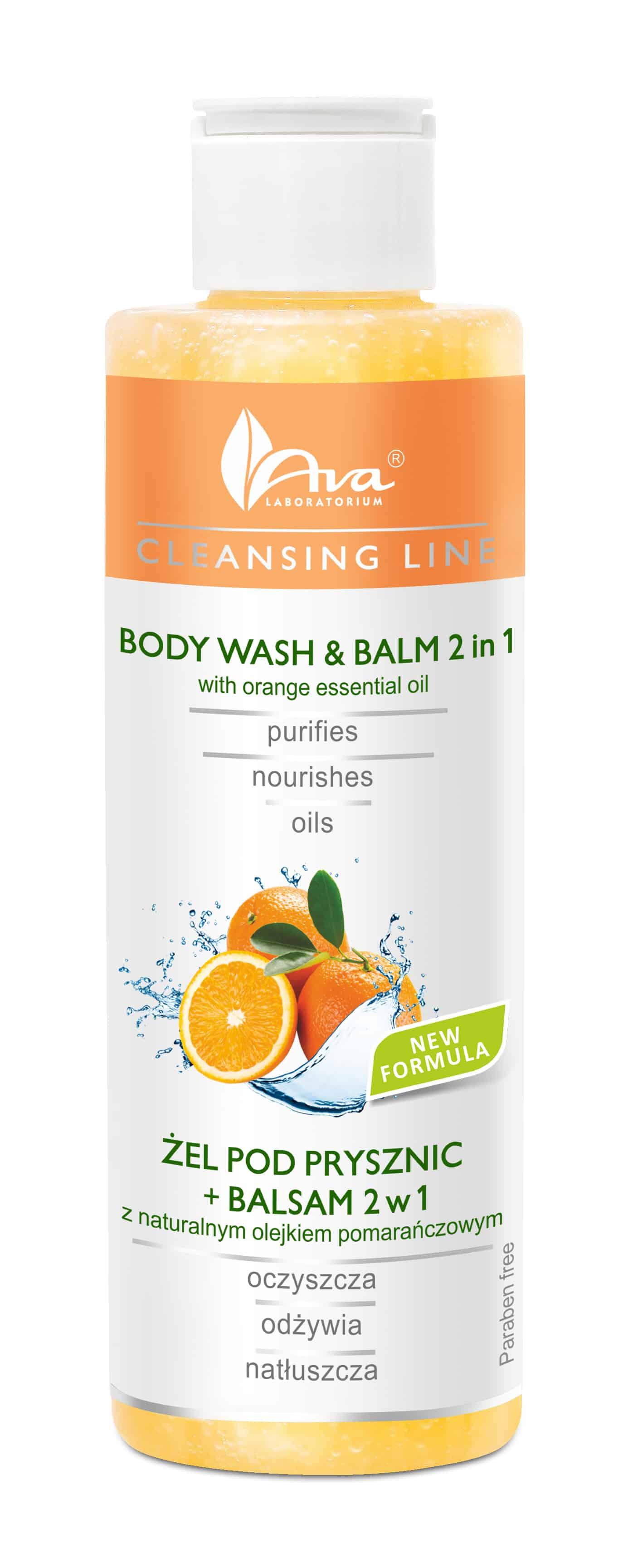 body wash & balm 2in1